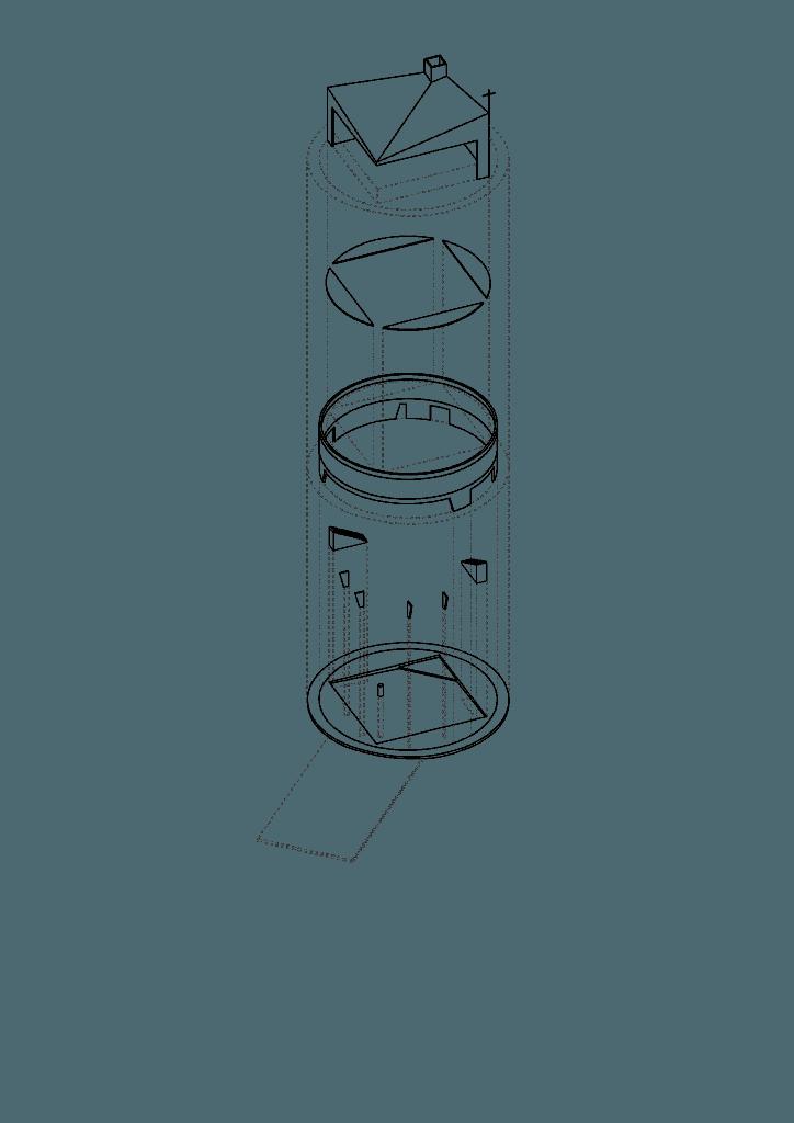 Ga Estudio Axonometrica Parroquia 2