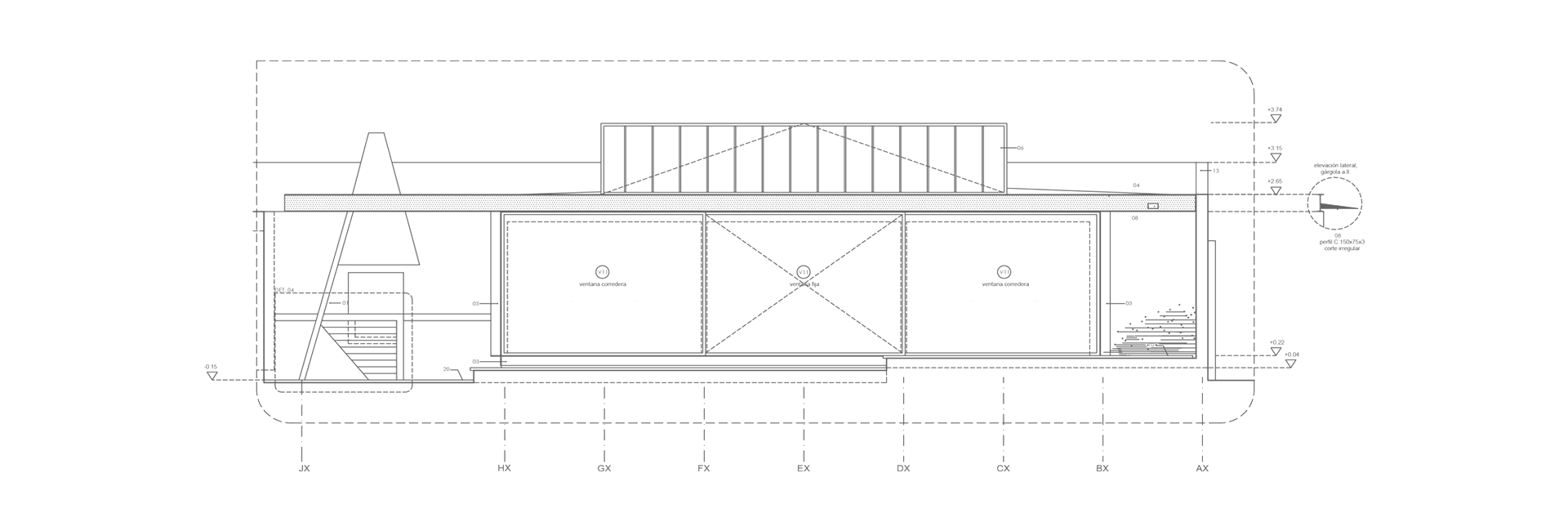 Remodelación y Pabellón Zavala